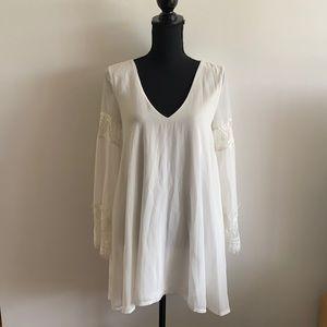 Shareen Boho Chic Longleeve Dress Lace AU 8